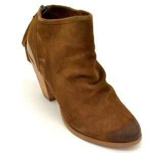 Naughty Monkey Womens Sereena Ankle Boot 8.5
